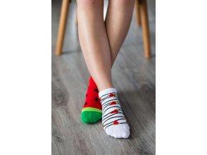 barefoot ponozky kratke melon 17578 size large v 1