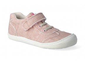 barefoot tenisky koel4kids bernardinho canvas pink 2