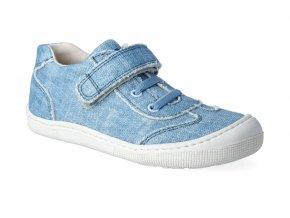 barefoot tenisky koel4kids bernardinho canvas jeans 2