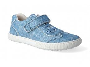 barefoot tenisky koel4kids bernardo canvas jeans 2