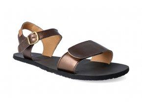 barefoot sandaly tikki shoes vibe vegan bronze 2