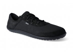 barefoot tenisky beda black adult 2