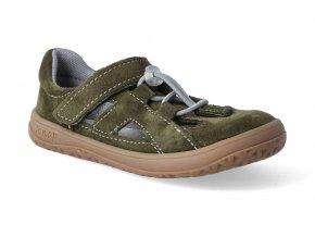 barefoot sandalky jonap b9s khaki 2