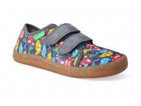 barefoot tenisky froddo bf grey platene 2 2