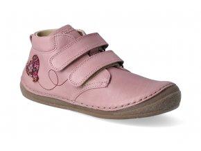 kotnikova obuv froddo flexible pink s aplikaci 5 2