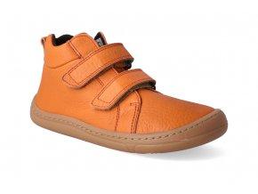 barefoot kotnikova obuv froddo bf autumn orange 3