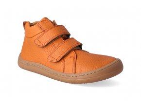 barefoot kotnikova obuv froddo bf high tops orange 2