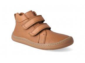 barefoot kotnikova obuv froddo bf high tops cognac 3