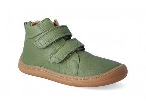 barefoot kotnikova obuv froddo bf high tops olive 2