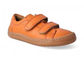 barefoot tenisky froddo bf low tops orange 2