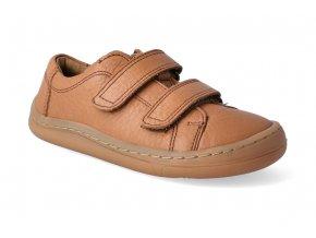 barefoot tenisky froddo bf low tops cognac 2