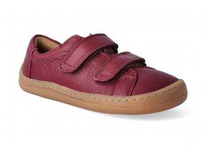 barefoot tenisky froddo bf low tops bordeaux 2
