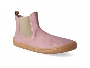 barefoot kotnikova obuv froddo bf chelys pink 2