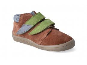 barefoot kotnikova obuv s membranou beda woody 2