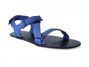 barefoot sandaly be lenka flexi blue 2