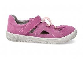 barefoot sandalky jonap b9s ruzova 2