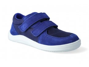barefoot tenisky baby bare febo sneakers navy 2