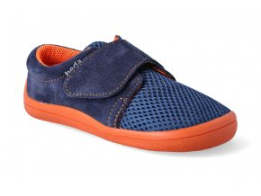 barefoot tenisky beda blue mandarine letni 2