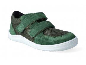 barefoot tenisky baby bare febo sneakers khaki 2