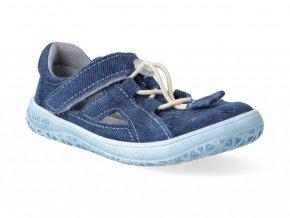 Barefoot sandálky Jonap - B9S riflová slim