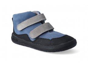 barefoot kotnikova obuv jonap bella modra 2
