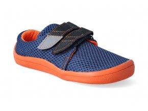 barefoot tenisky beda blue mandarine letni 2 3