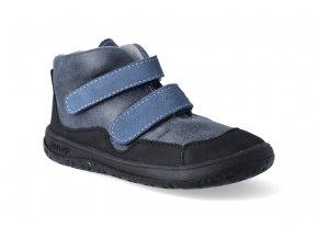 barefoot kotnikova obuv jonap bella m modra 2