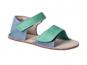 barefoot sandalky okbarefoot mirrisa modro zelene 2