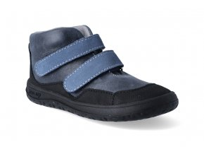 barefoot kotnikova obuv jonap bella m modra slim 3