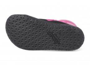 Barefoot kotníková obuv Jonap - Bella M růžová