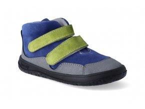 barefoot kotnikova obuv jonap bella s modrozelena 2