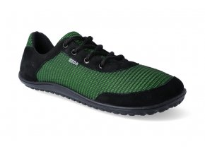 barefoot tenisky beda black grass adult 1 2