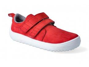 barefoot tenisky be lenka jolly red 2