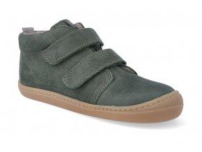 barefoot kotnikova obuv koel4kids korkid khaki 3