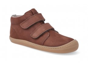 barefoot kotnikova obuv koel4kids korkid chocolate 3