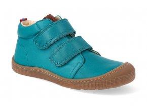 barefoot kotnikova obuv koel4kids don turquoise 2