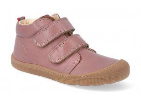 barefoot kotnikova obuv koel4kids don old pink 2