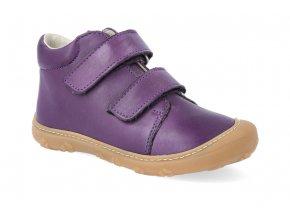 barefoot kotnikova obuv ricosta pepino chrisy cassis m 2 2