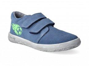 Barefoot tenisky Jonap - B1 modrý míč