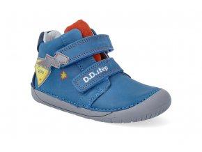 barefoot kotnikova obuv d d step s070 262 bermuda blue 2 2