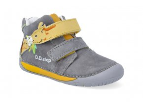 barefoot kotnikova obuv d d step s070 880a dark grey 2
