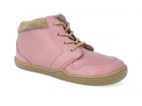 barefoot kotnikova obuv blifestyle pangolin fleece rose 3