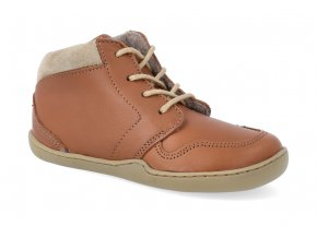 barefoot kotnikova obuv blifestyle pangolin fleece walnuss 2
