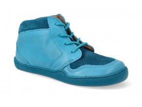 barefoot kotnikova obuv blifestyle pangolin lace turkis 3