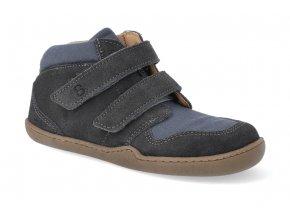 barefoot kotnikova obuv blifestyle raccoon bio leather strap waldmeister 2 3