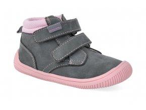 barefoot kotnikova obuv protetika fox grey 2 3