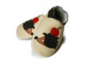 liliputi soft baby shoes hedgehog friends 2223