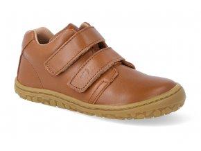barefoot tenisky lurchi noah cognac 2