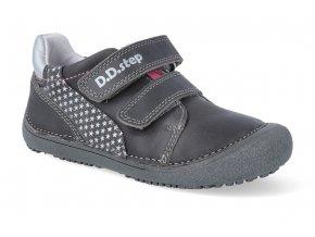 barefoot tenisky d d step s063 11b dark grey 3