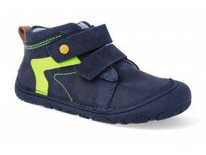 barefoot tenisky d d step s073 504a royal blue 2